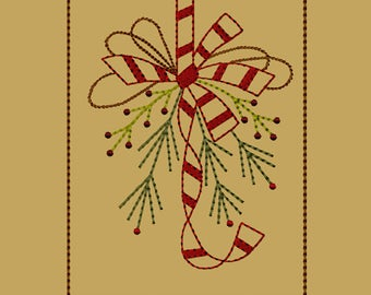 MACHINE EMBROIDERY-Winter Bunches Hand Towel Design Set-Small-Fill-Instant Download