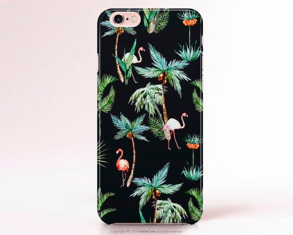 iPhone 6s Case Palms Flamingos iPhone 6s Plus Case Flamingos iPhone 6 Plus Case iPhone SE Case Palm iPhone 6 Case Samsung Galaxy S7 Case