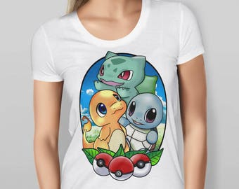 Women's Pokemon Inspired T-shirt