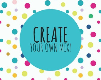 Customized Sprinkle Mix, Create your own mix