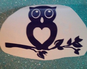 Owl Window Decal/ Owl Decals/Owl Auto Decals/Owl Computer Decals/Owls