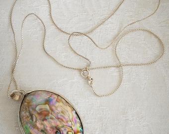 Paua Shell Necklace
