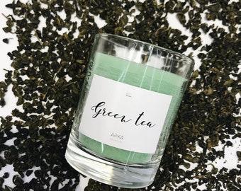 Candle «Green tea»