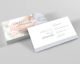 Business Card Template, Photography Stationary, Photography Business Card, Stationary Design, Marketing Template, Photographer Branding