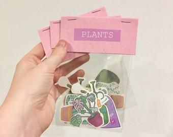 Plant stickers