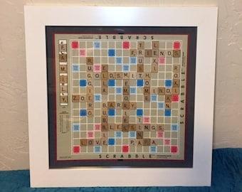 Custom Scrabble Board