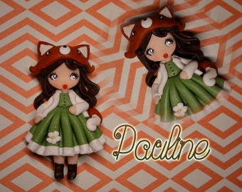 NEW COLLECTION Pauline - Woodland girl