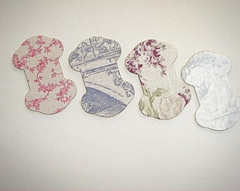 you will ribbons or lace linen print, sold individually