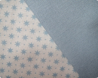 Fabric blue Gutermann french Cottage collection