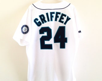 Seattle Mariners Ken Griffey Jr. Russell Athletic Authentic Jersey