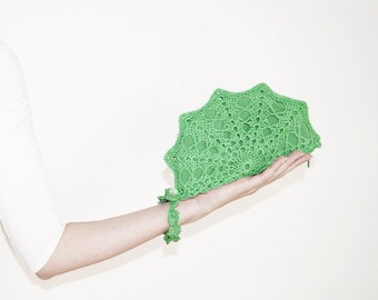 Jade Green Clutch Bag, Shimmering Wristlet Purse, Clutch With Strap, Formal Clutch Evening Bag, Jade Green Personalized Clutch, MORE COLORS