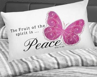 Spirits fruit is ... Peace Pillow