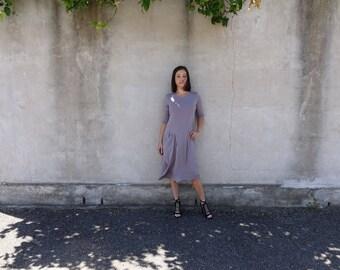 Style Arc Sewing Pattern - Alissa Knit Dress - Sizes 8, 10 and 12 - Women's Pull On Dress - PDF Sewing Pattern
