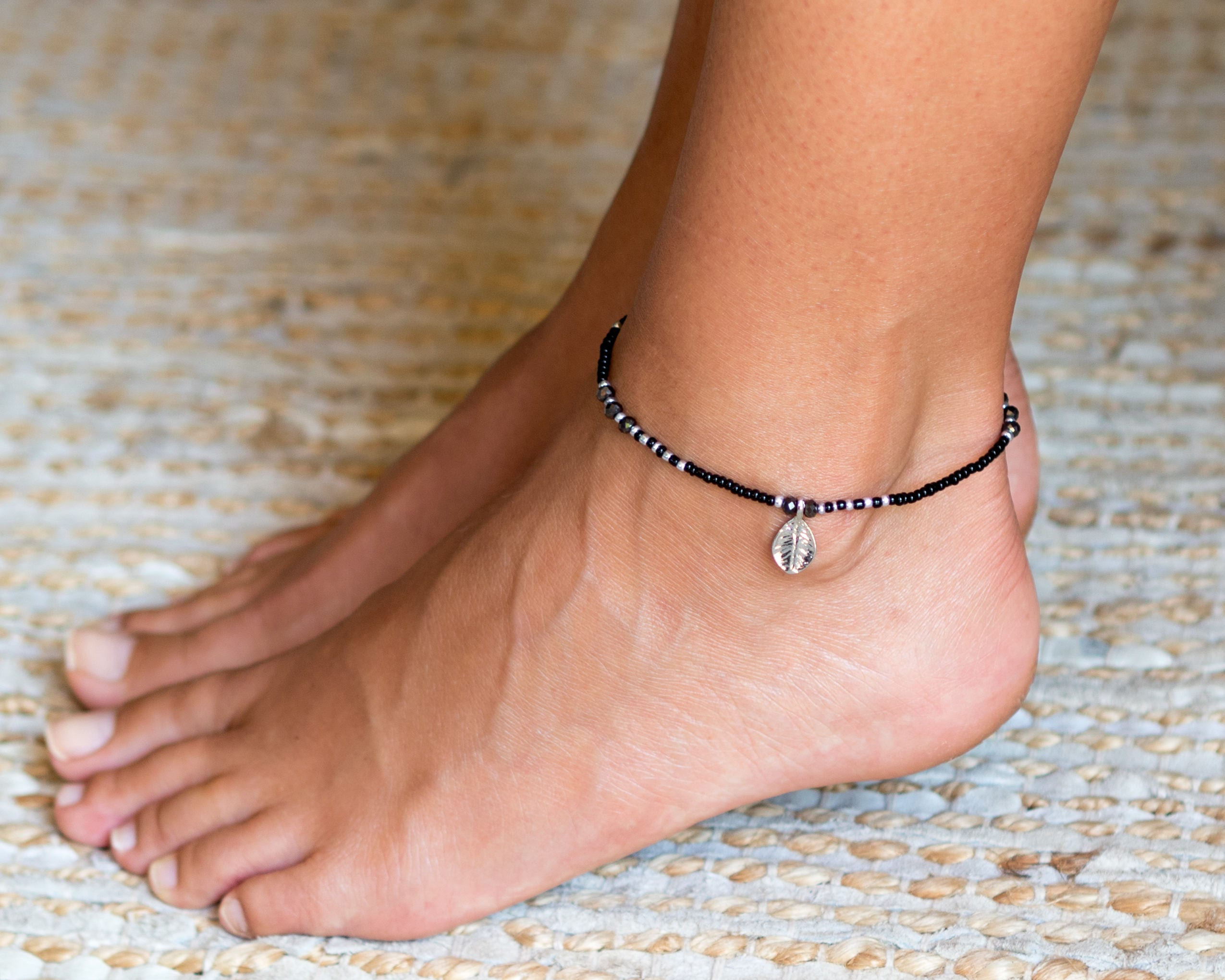 p beaded novica sweet handmade anklet bracelets tribe brass ankle charm beach hill