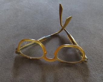 Retro Steampunk Saftey Adjustable Glasses,Yellow!!!!