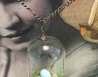 Birds Nest Necklace (Cloche Necklace)