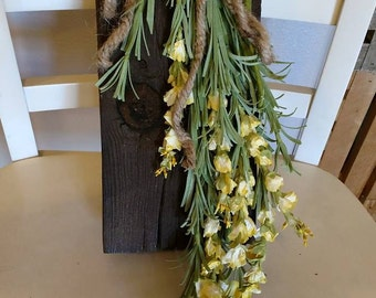 Barnwood Wildflowers Small Yellow