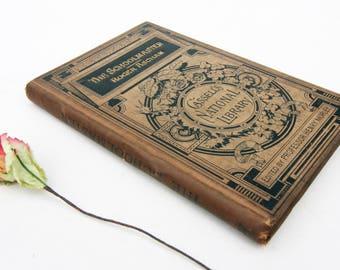 Antique Schoolmasters Book Teachers textbook rare old school Antique teaching Old books