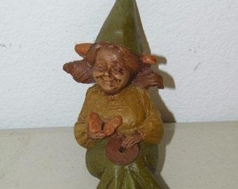 Vintage Tom Clark Gnome Gypsy 1987 #84 1183 14291 Shelf Bench Sitter