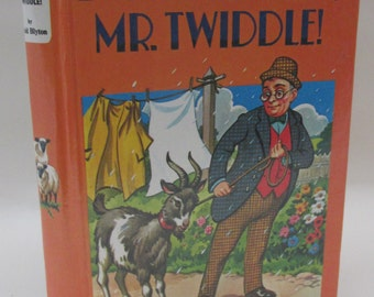 Vintage 1970s Children's Book - Don't Be Silly Mr Twiddle! by Enid Blyton