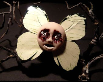 Evil Doll Butterfly - Hairclip