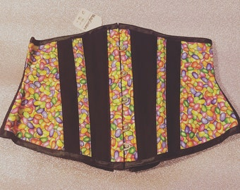 """REDUCED - Jelly beans underbust corset 26"""""""