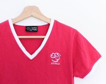 Vintage Australian GumNut Koala Embroidered T Shirt