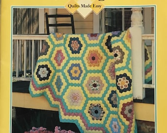 GRANDMA'S Quilt Bee Vintage Pattern Book Oxmoor House 1930's 1800's Reproduction Style RARE!