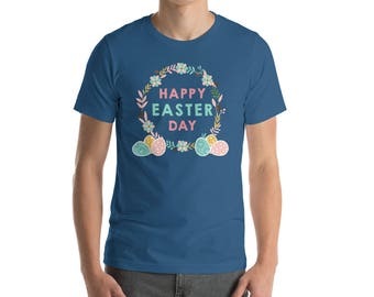Happy easter day - easter bunny shirt - easter bunny gift - easter bunny tee - gift easter - easter gift idea - easter rabbit - easter desig