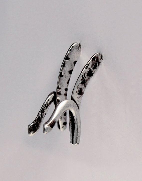 tribal earrings | bohemian earrings | unique earrings | oxidized jewelry
