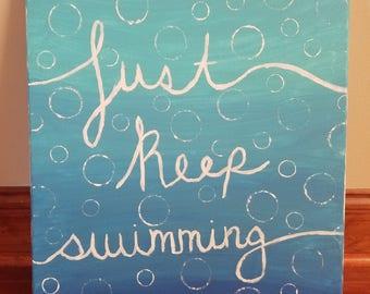 Just Keep Swimming