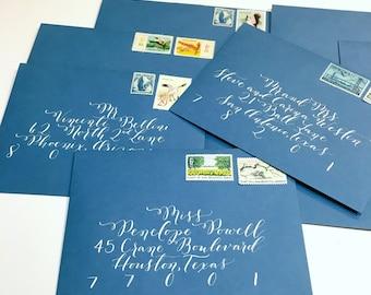 Envelope Calligraphy, Wedding Calligraphy,  Handwritten Address- SIGNATURE STYLE