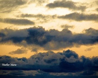 Across the Sky, fine art photography