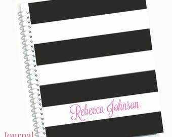 Journal Notebook, Spiral Notebook, Custom Journals, Writing Journal, Personalized Journal, Custom Notebook, Personalized Notebook, Gift Book
