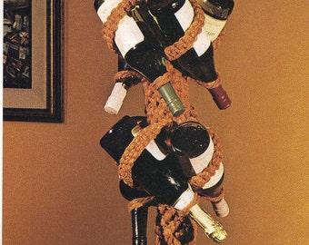 Macrame Wine Rack PATTERN PDF download