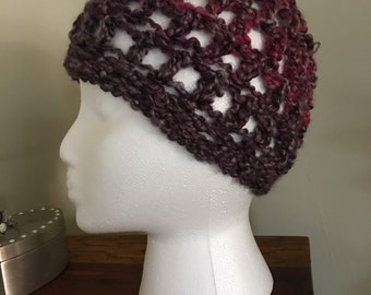 Light weight crochet beanie