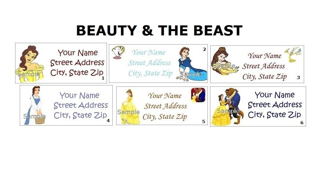 CUTE Disney Princess Belle Beauty And The Beast Return