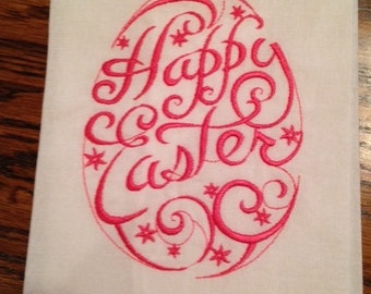 Happy Easter Guest Towel
