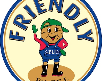 Friendly Spud Character