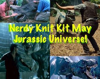 Nerdy Knit Kit Subscription Box - 1 month