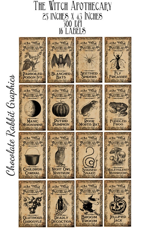 Stupendous image throughout free printable apothecary jar labels