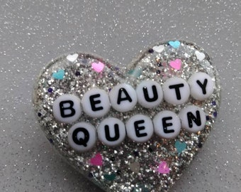 Sparkly Beauty Queen Pin