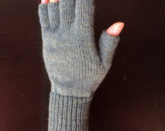 Half Mid Finger Gloves/Hand Warmers/Manicure/Driver/Bike/Bicycle Gloves (Bowness)