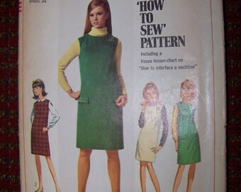 SIMPLICITY 7270 uncut dress pattern