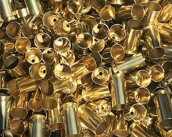 Processed 40 SW Once Fired Brass Casings! *These do not have primers in them*
