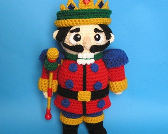 PDF Crochet Pattern PUDGY NUTCRACKER (English only)