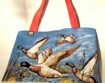 The tote bag vintage 1978 ducks Uniktontorchon