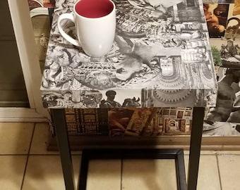 Texni collage design table