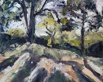 Radiant Light III, an original oil on canvas by Kristin Hartman