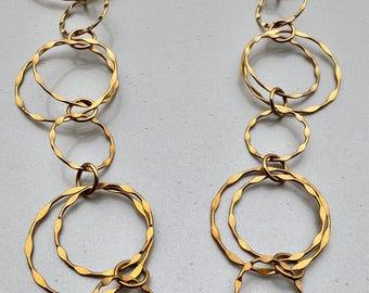 Estate Sale: Geometric Circle Necklace